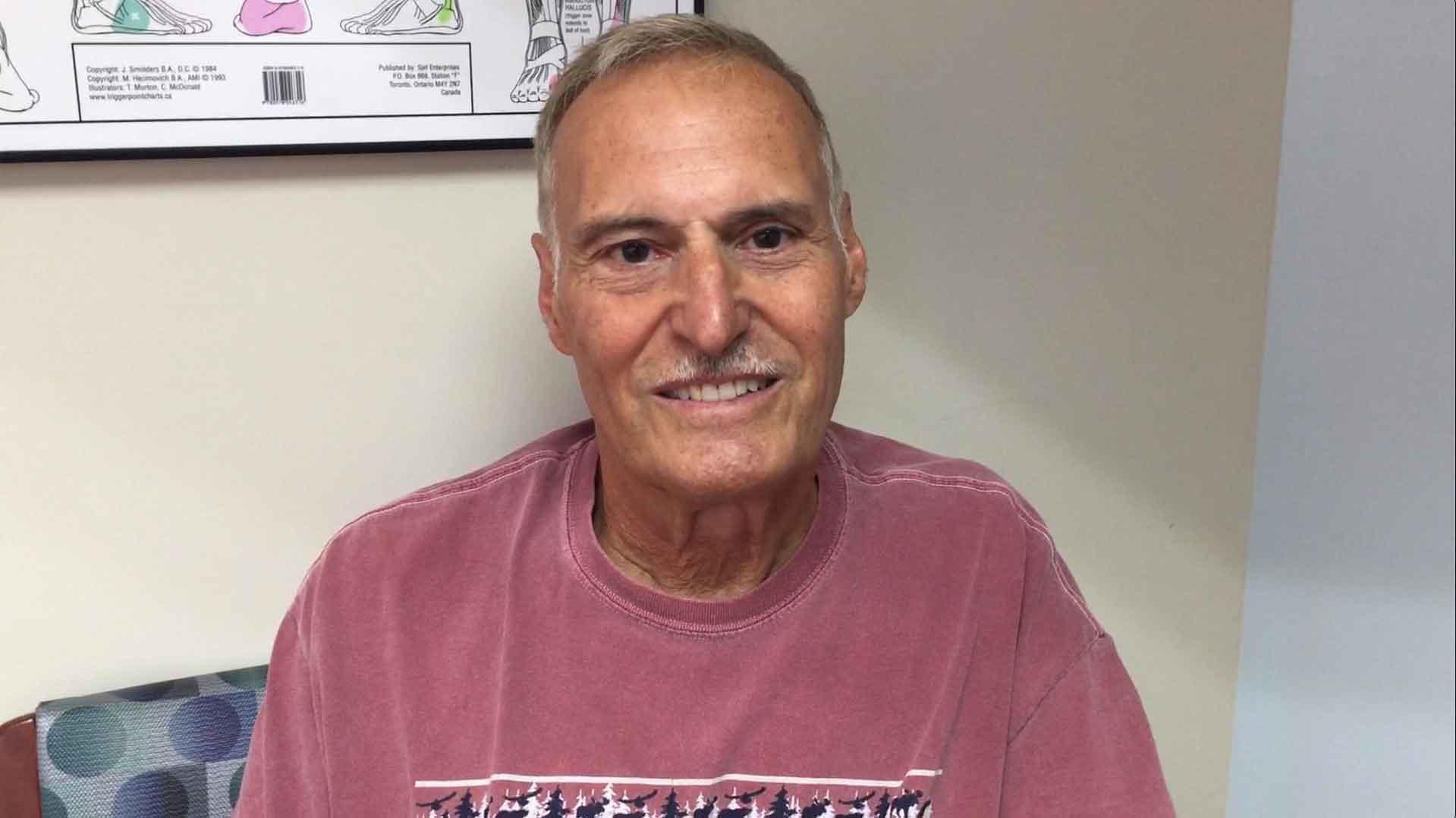 Steve bilateral knee stem cell