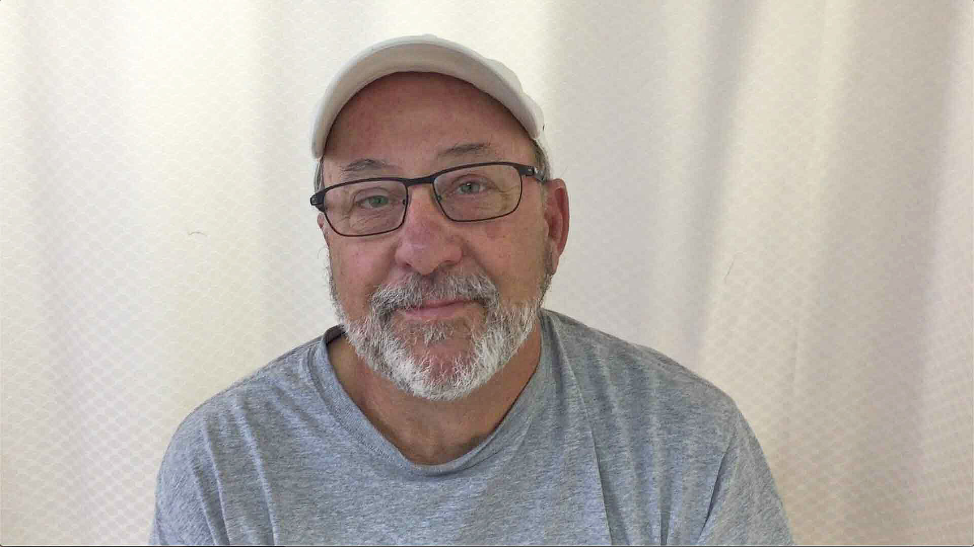 Steve after stem cell knee treatment